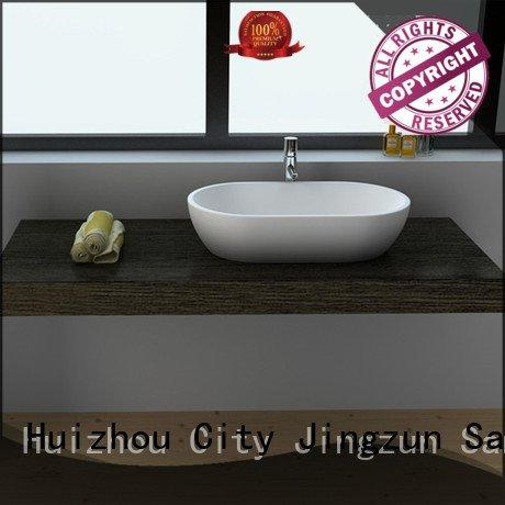 jz9063 surface JINZUN Solid Surface Wash Basin