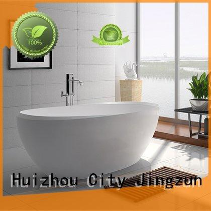 67 style contemporary solid surface tub JINZUN