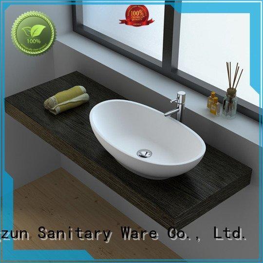 solid surface countertop options solid jz90 JINZUN Brand
