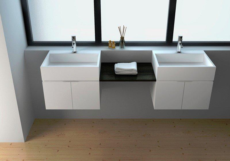 Solid Surface Wall-hung Cabinet JZ60 Series