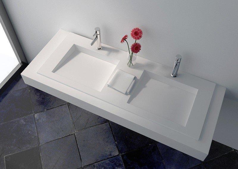 Solid Surface Wall-hung Seamless Basin JZ1035