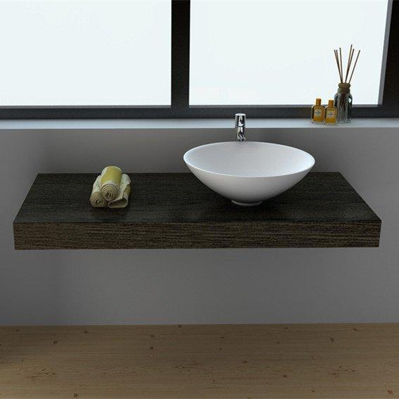 Counter-top Cast Stone Solid Surface Vessel  Sink JZ9063