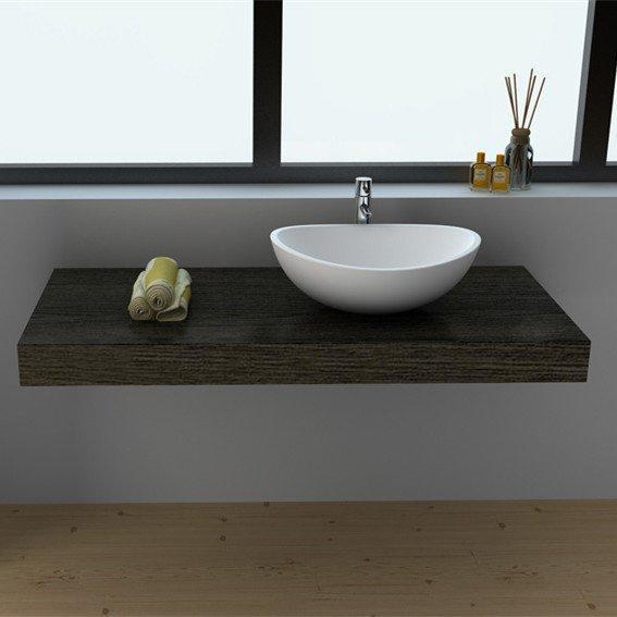 Cast Stone Solid Surface Countertop Vessel Sink JZ9039