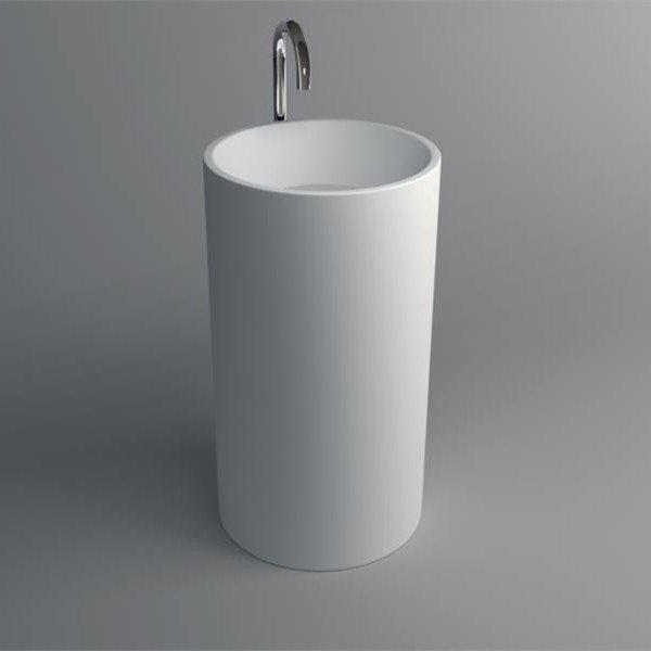 JINZUN Solid Surface Pedestal Freestanding Basin JZ2011 Solid Surface Freestanding Basin image52