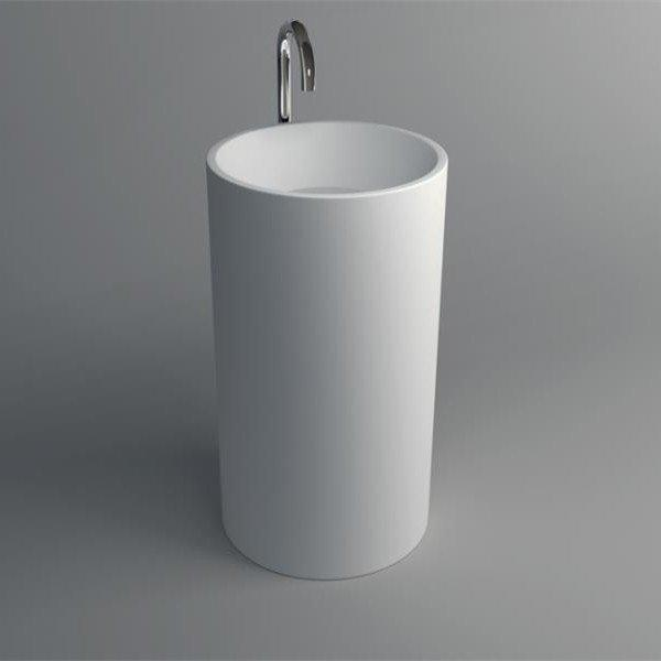 Solid Surface Pedestal Freestanding Basin JZ2011