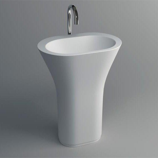 Solid Surface Pedestal Freestanding Basin 20 Series