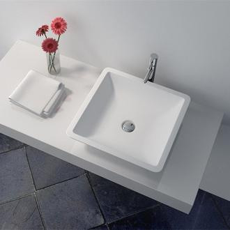 solid surface adhesive Cast Stone Solid Surface Bathroom Countertop Basin JZ9003 information
