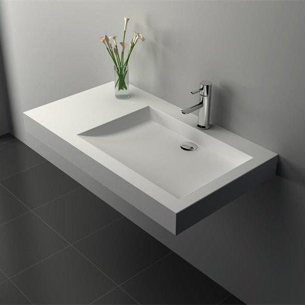 Cast Stone Solid Surface Bathroom Countertop Basin JZ9020a