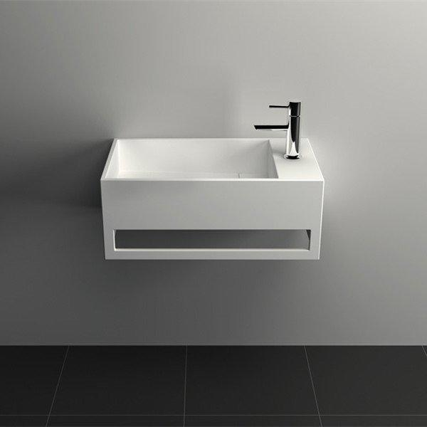 Solid Surface Wall-hung Bathroom Sink series