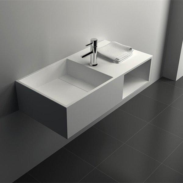 Solid Surface Seamless Bathroom Basin JZ1004