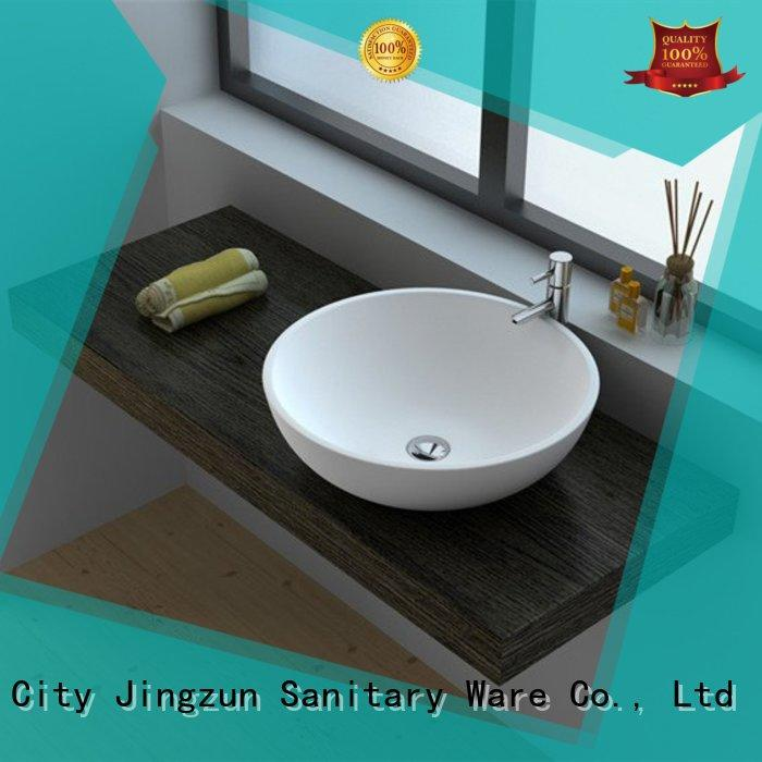 Cast Stone Solid Surface Countertop Bowl Sink JZ9038