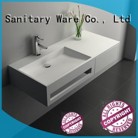 Solid Surface Wall Mount Cabinet JZ6009