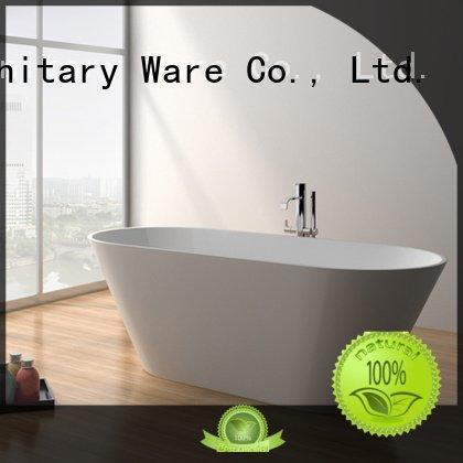 JINZUN Brand 67 jz8607 modern solid surface tub