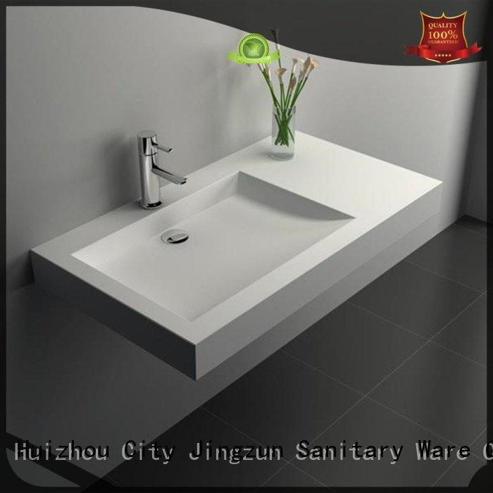 Custom jz9022 Solid Surface Wash Basin wash solid surface countertop options