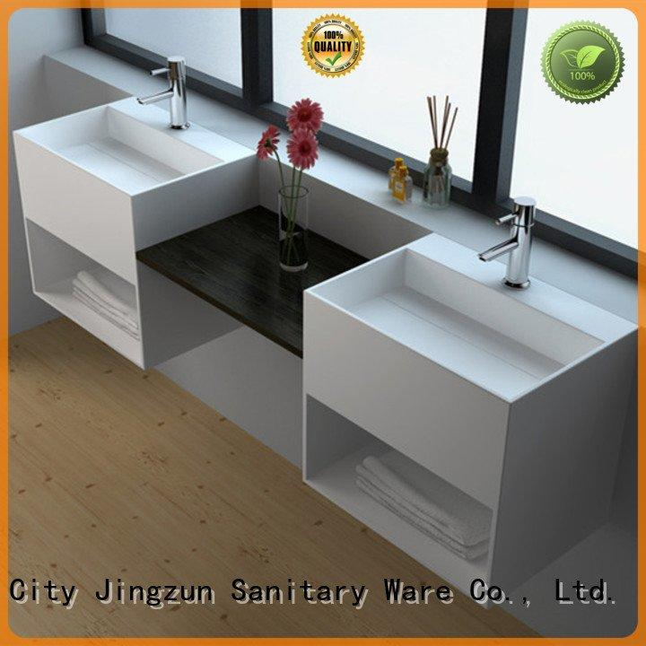 JINZUN Brand jz1024 mount jz1029 Solid Surface Wash Basin series