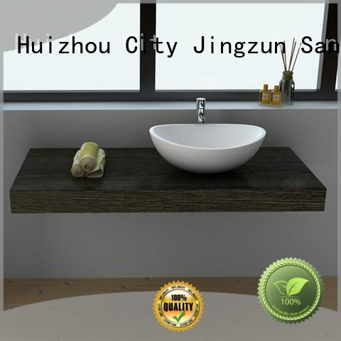 JINZUN bowl Solid Surface Wash Basin size for home