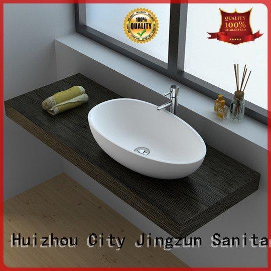 JINZUN jz9030 jz9013 Solid Surface Wash Basin series jz9018