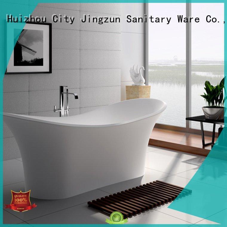 Hot solid surface tub standing 65 64 JINZUN Brand