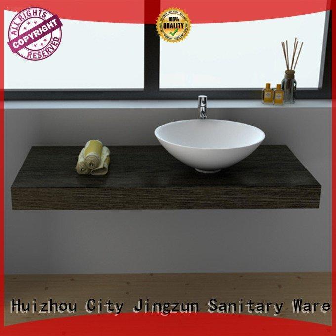 Custom Solid Surface Wash Basin jz9031 solid jz9055 JINZUN