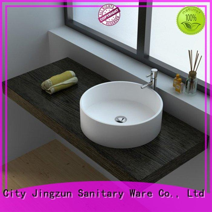 Cast Stone Solid Surface Countertop Bowl Sink JZ9061