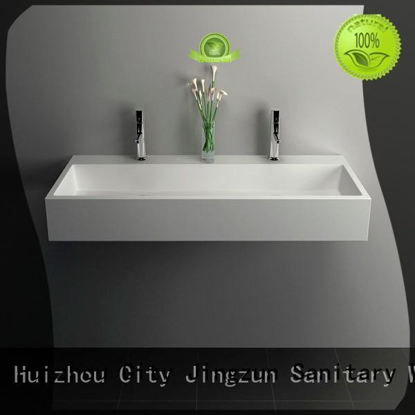 Cast Stone Solid Surface Bathroom Countertop Basin JZ9023