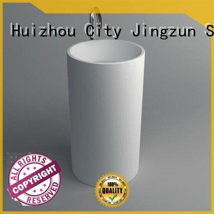 Wholesale basin jz2012 Solid Surface Wash Basin JINZUN Brand