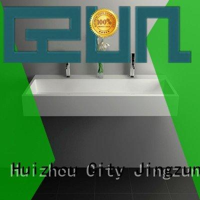 solid surface countertop options stone JINZUN Brand Solid Surface Wash Basin