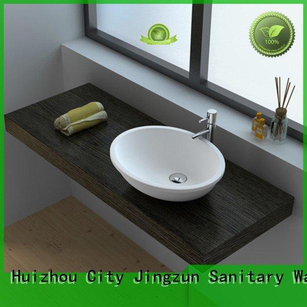 Wholesale jz9028 jz9038 Solid Surface Wash Basin JINZUN Brand