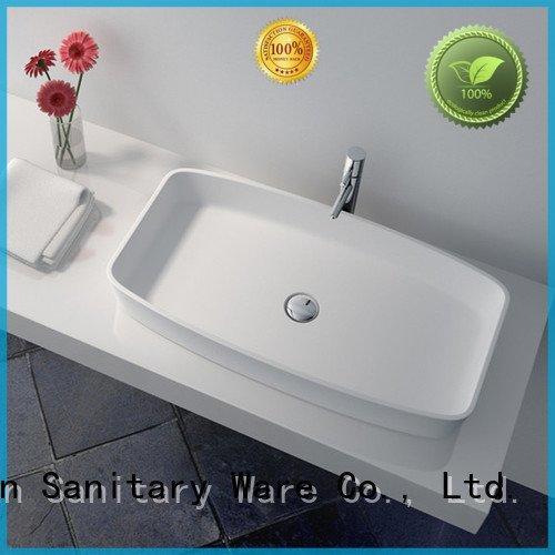 solid surface countertop options jz9020a basin bathroom jz9023 Bulk Buy