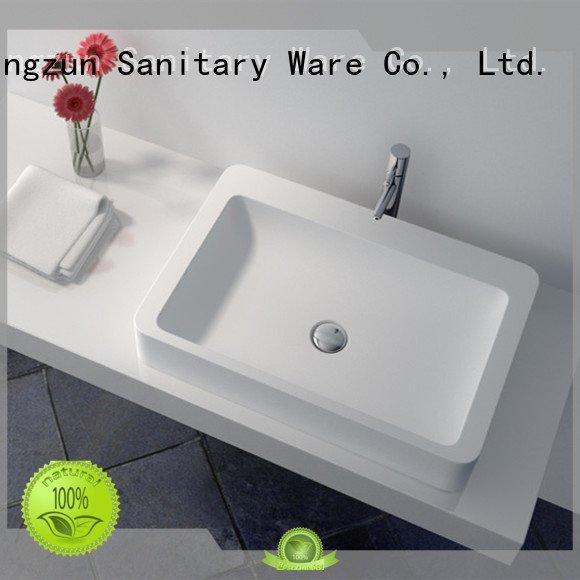 vessel jz9023 Solid Surface Wash Basin jz9018 JINZUN