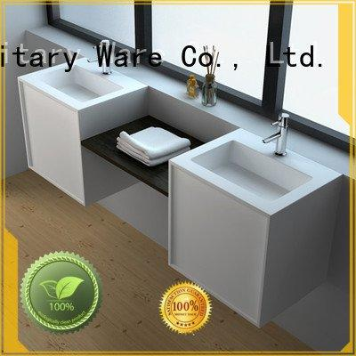 solid surface products jz60 JINZUN Brand solid surface cabinets