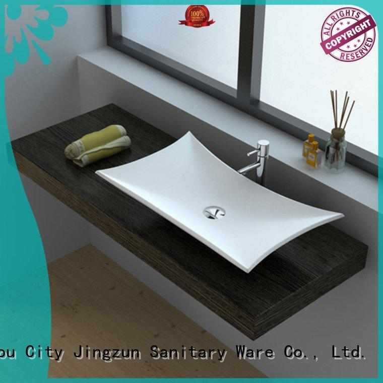 JINZUN Solid Surface Wash Basin jz9009 jz9035 jz9002 jz9020a