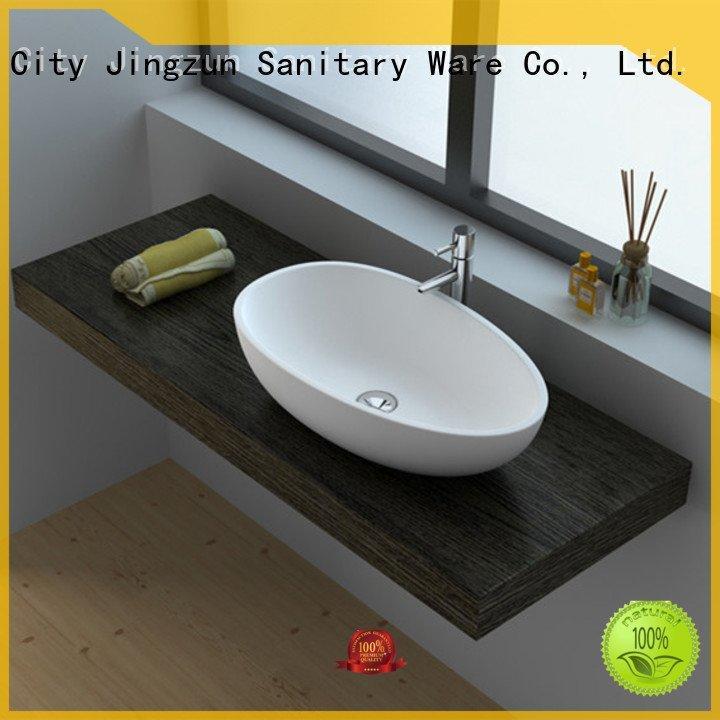 Custom Solid Surface Wash Basin jz9003 wash jz9022 JINZUN