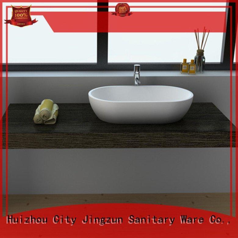 jz9007 jz9022 jz90 wash JINZUN solid surface countertop options
