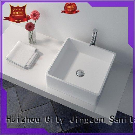 Custom Solid Surface Wash Basin jz9063 jz9023 jz9038 JINZUN