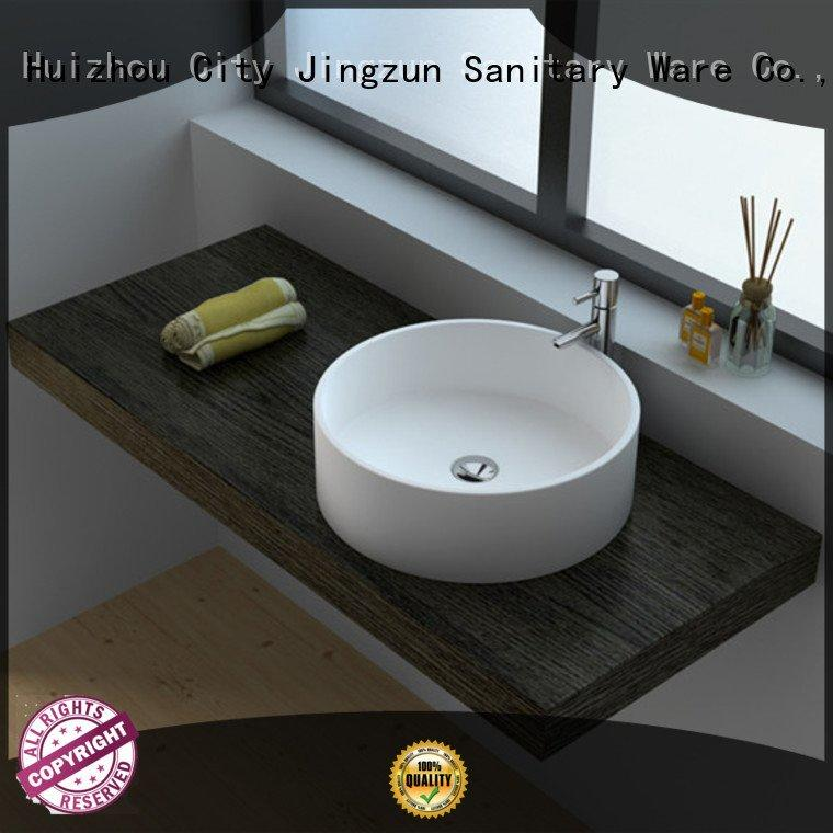 OEM Solid Surface Wash Basin jz9062 jz9035 solid surface countertop options