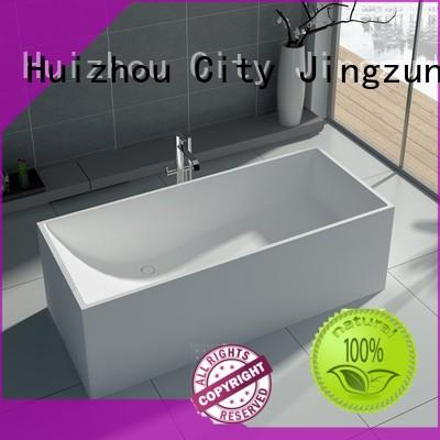 JINZUN 67 solid stone bathtub supplier for guesthouse