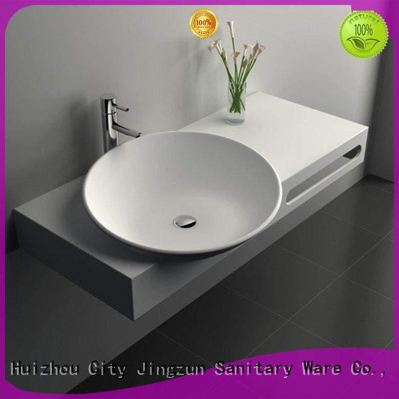 solid surface countertop options jz9022 jz9016 JINZUN Brand