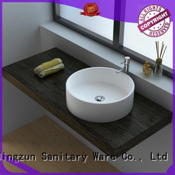 high quality Solid Surface Wash Basin jz9009 from China for apartment