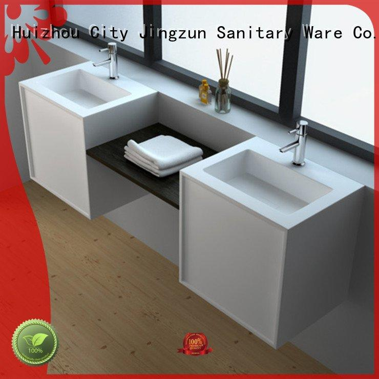 wall solid surface cabinets cabinet mount JINZUN