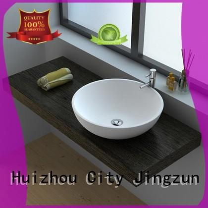 practical Solid Surface Wash Basin jz9002 from China for hotel