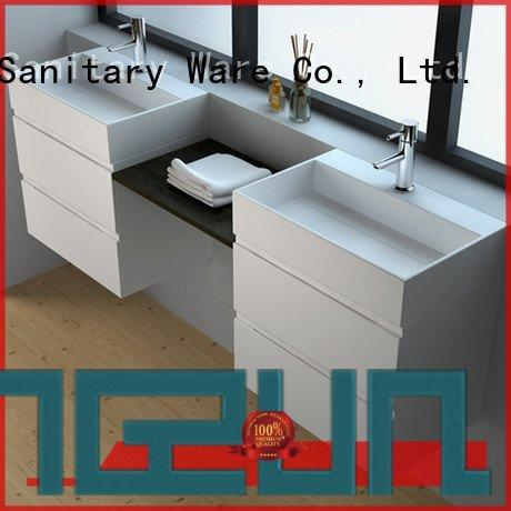 Custom seamless solid surface cabinets solid solid surface products