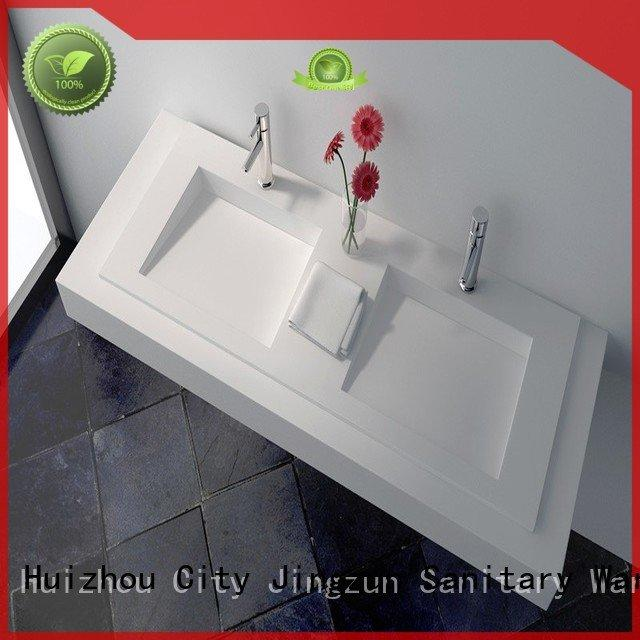 solid surface vanity sinks jz1024 Solid Surface Wash Basin JINZUN