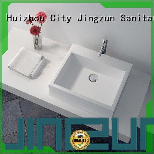solid surface countertop options jz9035 Solid Surface Wash Basin jz9023 JINZUN