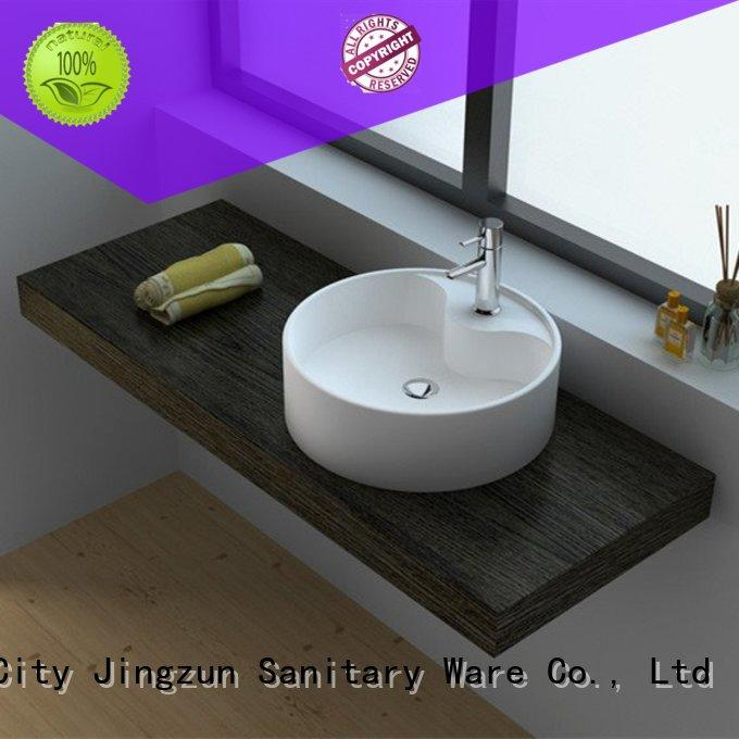 JINZUN utility acrylic solid surface jz9035 for apartment