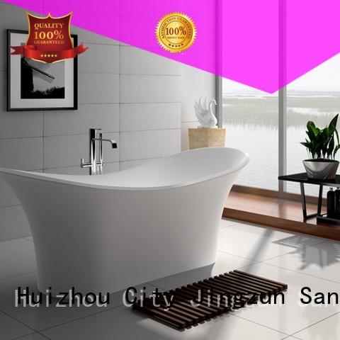 69 Inch New Style Modern Solid Surface Soak Bathtub JZ8614