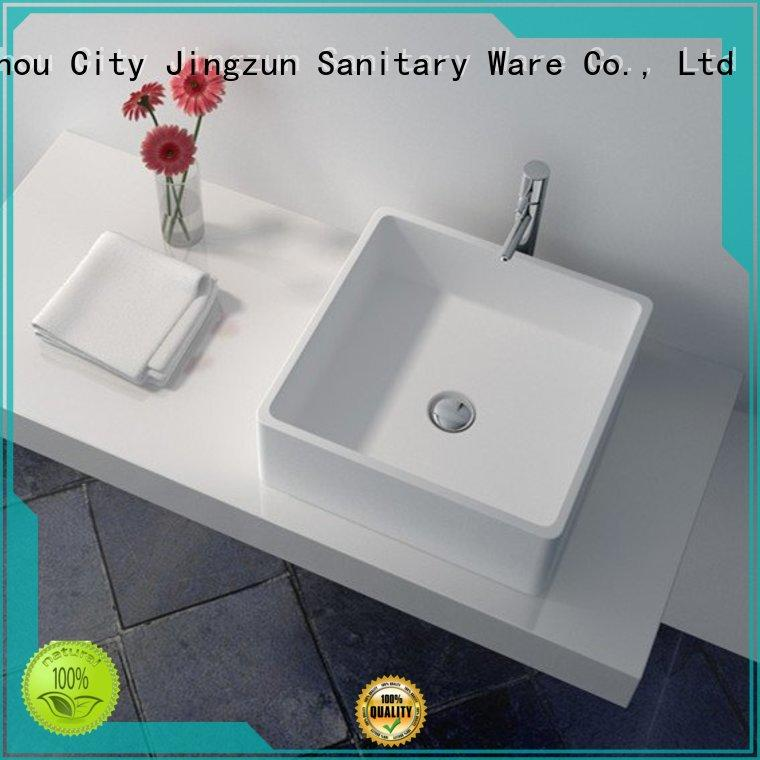 JINZUN jz9035 stone bathroom basins from China for home