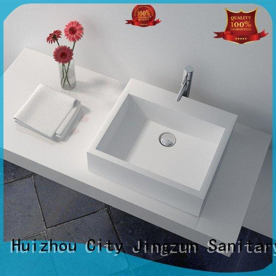 solid surface countertop options jz9008 Solid Surface Wash Basin JINZUN