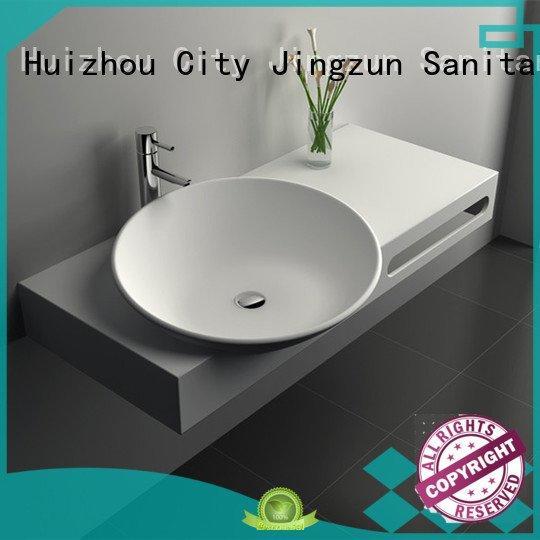 JINZUN Brand jz9007 jz9033 solid surface countertop options jz9017 jz9011