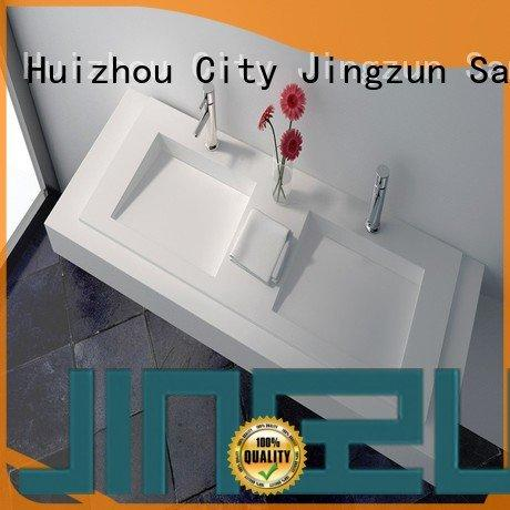solid surface vanity sinks wash Solid Surface Wash Basin JINZUN Brand